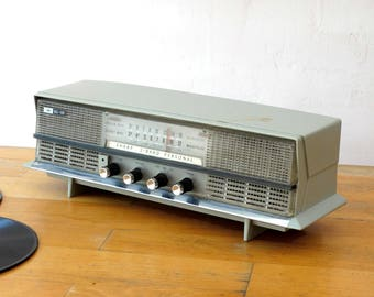 Retro Transistor Radio, Rare Antique Radio, Old Electronic Radio, Radio Tuner, Collectible Radio