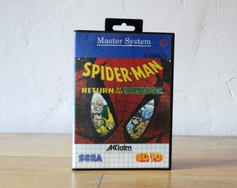 Spiderman, Sega Game Catridge, Sega Master System, Video Game Catridge, Sega Gamer Gift, Video Game, Sega Console Game, Old Console Game,