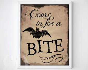 Halloween Wall Art spooky wall art | etsy