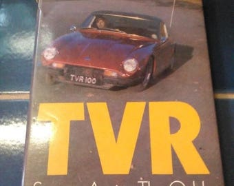 late Summer Sale TVR Success Against the Odds / by Peter Filby / 1976 First Edition