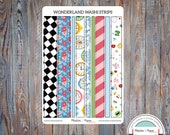 June Washi Planner Stickers