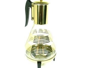 Vintage Atomic Kitchen Coffee Carafe Corning Kitchenware