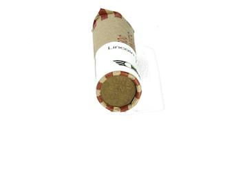 Lincoln Head Wheat Ear Cent Penny Roll 2