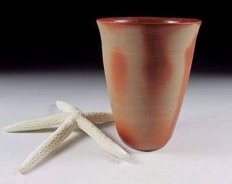 Wood Fired Bizen-ware Beer Cup, Koedo