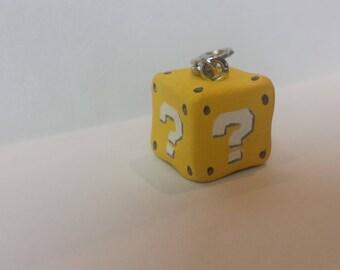 Cute Super Mario Question Block Charm