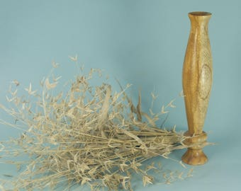 Twig vase turned from Mesquite