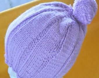 Ladies Handknitted Beanie