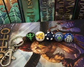 Percy Jackson Camp Bead Keychain