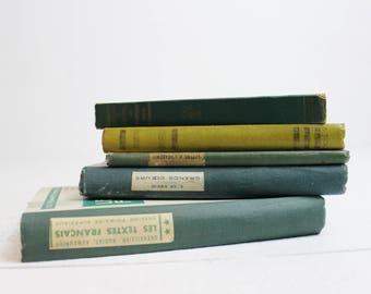 Orange Vintage Books by Color Antique Books Orange Vintage