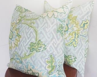 Pair of paradise vine Pillowcases, Jim Thompson Pillow Cover,Decorative Pillow, Pillowcases, Christmas gift