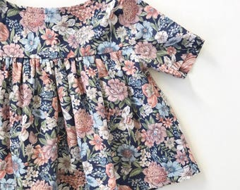 Empire blouse in night time spring
