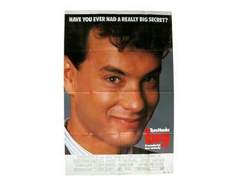 Vintage Big Movie Poster 80s Comedy Tom Hanks