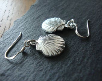 Sterling Silver shell earrings Christian Gifts Camino de santiago Earrings Best selling items Religious Jewelry Christmas gift labor day