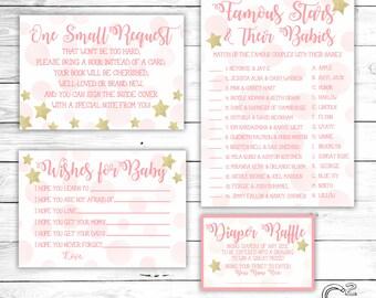 Twinkle Twinkle Baby Shower Digital Package