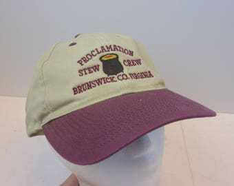 Brunswick Stew 90s hat cap snapback The Best At BS