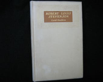 Robert Louis Stevenson by Lord Guthrie Limited Edition 1920