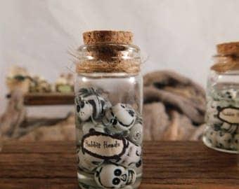 SALE HOBBIT HEADS Dollhouse Miniature Halloween Potion - Inventory 900s