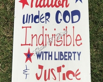 One Nation Under God/America/July 4th/Independence Day