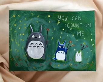 Studio Ghibli's Totoro and Gang