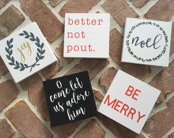Christmas Little Signs