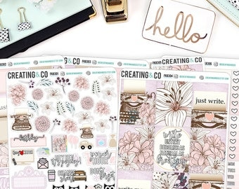 Write More Weekly Planner Kit for No-White Space and White Space Planners -  FK83
