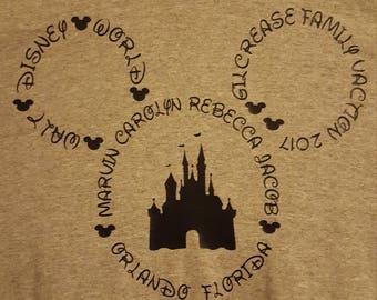 Disney Vacation T-shirt