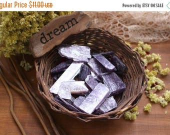 10% off July 4th 1/2 lb Lepidolite Stones - 1/2 lb Bag - Craft Supplies - Meditation Stones - Jewelry Supplies - Brazilian Energy Stones (RK