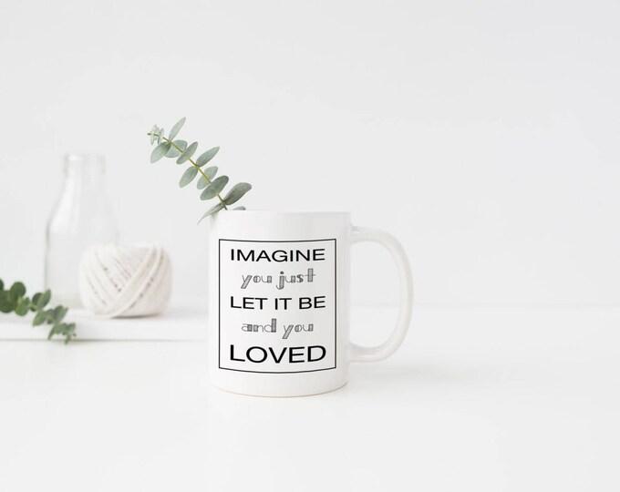 Plastic Imagine Mug