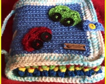 "Crochet ""baby's first book"""