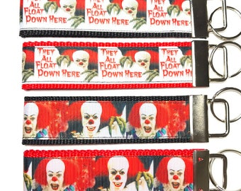 IT Keychain, Pennywise, Clown, Stephen King, Horror Movie, Keychain, Horror, Gift