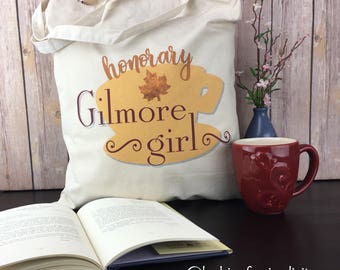 Honorary Gilmore Girl (inspired by the show Gilmore Girls) Light Weight Tote Bag