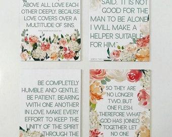 Bridal Scripture Card Set