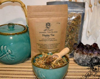 HAPPY TEA ~ Organic Herbal Tea