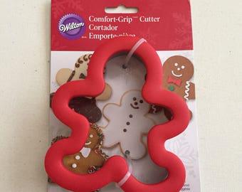 Gingerbread Man  NEW Comfort grip cookie cutter
