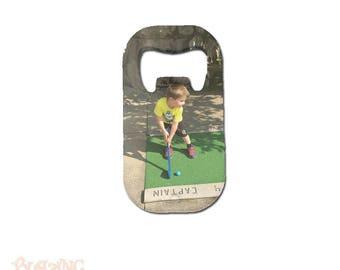 Personalized Custom Photo Credit Card Style Bottle Opener