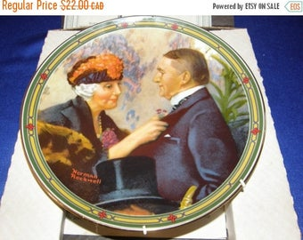Winter Clearance Love's Reward 8th in Norman Rockwell's American Dream Plate Knowles