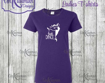 Just Dance Ladies T-Shirts