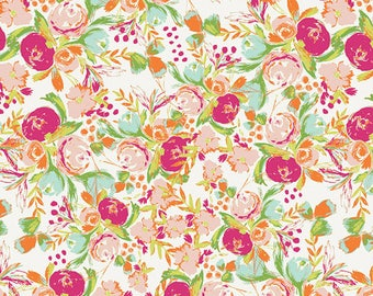 Wild Bloom - Flowerfield Sunrise - Bari J. Ackerman - Art Gallery Fabrics (WBL-12035)