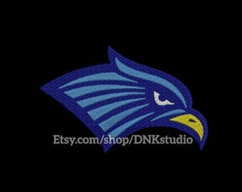 Eagle Head Machine Embroidery Design - 6 Sizes - INSTANT DOWNLOAD
