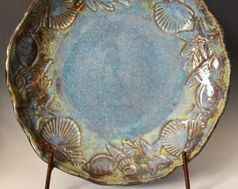 Pottery Bowl, Water's Edge Bowl, Home Decor