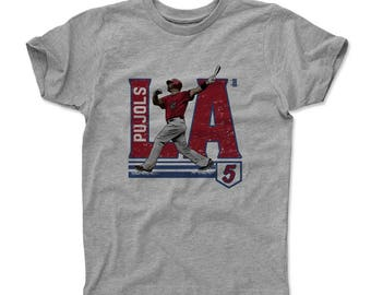 Albert Pujols City R Officially Licensed Los Angeles A Kids T-shirt