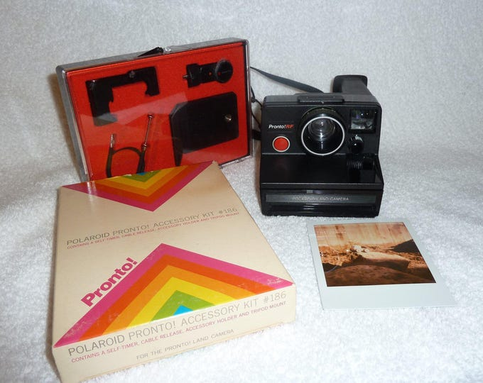 Polaroid Pronto RF with Original Packaged Accessory Kit