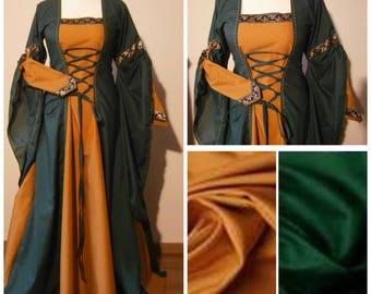 Medieval Dress, Renaissance Gown, Size S, Renfaire LARP, Fantasy Dress Handfasting