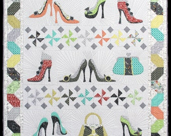 Never Enough Shoes Quilt Kit By Windham Fabrics