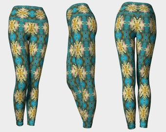 00512p Yoga Leggings: Tree Photography. Yoga Tights, Running Tights, Yoga Pants, Leggings