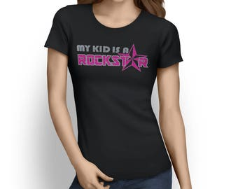 Rockstar Clothing - My kid is a Rock Star - Rockstar Shirt - Rockstar Kid - Rockstar Party - Rockstar Birthday Shirt - Girl Rockstar Party