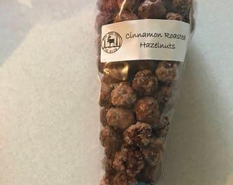 Cinnamon roasted Hazelnuts