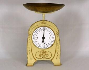 Art Nouveau Kitchen Scales