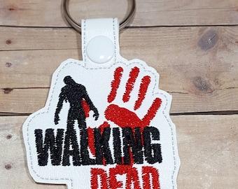 The Walking Dead Inspired Keychain