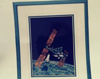Space Station Counted Cross stitch pattern